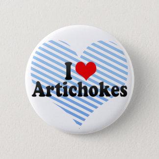 I Love Artichokes Button