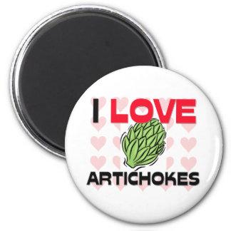 I Love Artichokes Magnet