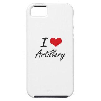 I Love Artillery Artistic Design iPhone 5 Cases