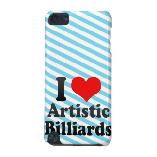 I love Artistic Billiards iPod Touch (5th Generation) Cover