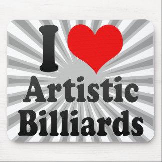 I love Artistic Billiards Mouse Pad