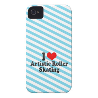 I love Artistic Roller Skating Case-Mate iPhone 4 Case