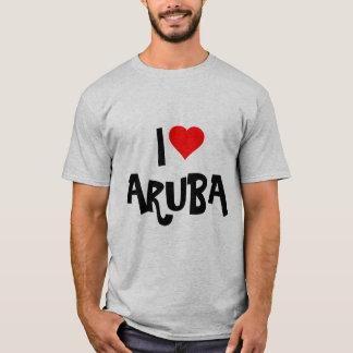"""I Love Aruba"" Custom Design T-Shirt"