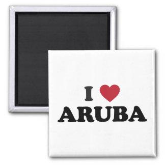 I Love Aruba Magnet