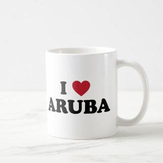 I Love Aruba Classic White Coffee Mug