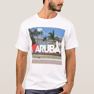 I love Aruba - One happy Island T-Shirt