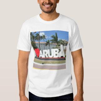 I love Aruba - One happy Island Tee Shirt