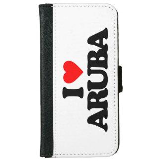 I LOVE ARUBA iPhone 6 WALLET CASE