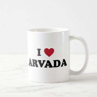 I Love Arvada Colorado Coffee Mugs