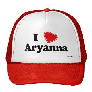 I Love Aryanna Trucker Hat