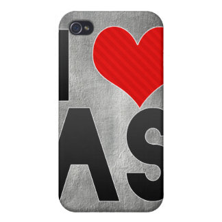 I Love AS Case For iPhone 4