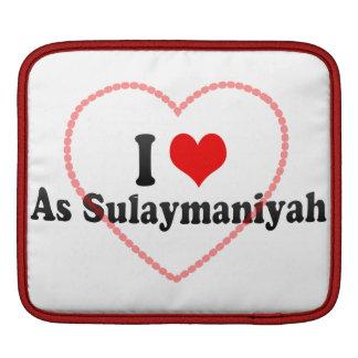 I Love As Sulaymaniyah, Iraq iPad Sleeves