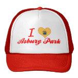 I Love Asbury Park, New Jersey Mesh Hat