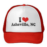 I Love Asheville, NC Trucker Hat