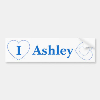 I Love Ashley (BpS) Bumper Sticker