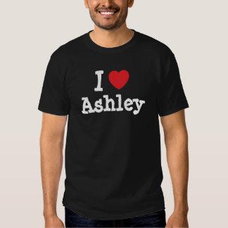 I love Ashley heart custom personalized Shirt