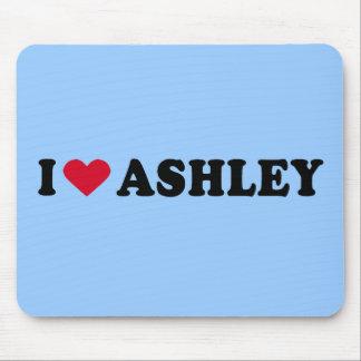 I LOVE ASHLEY MOUSE PAD