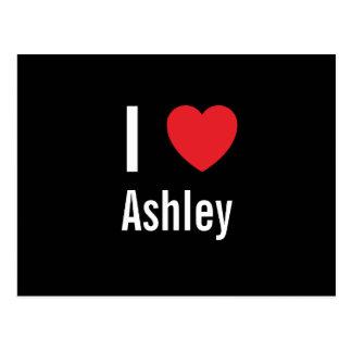 I love Ashley Postcard