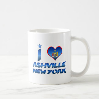 I love Ashville, New York Coffee Mug