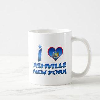 I love Ashville, New York Coffee Mug