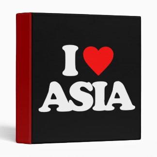 I LOVE ASIA BINDERS