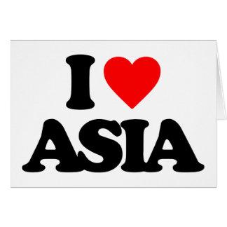 I LOVE ASIA CARD