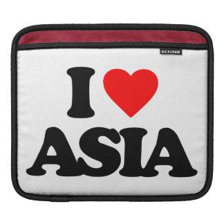 I LOVE ASIA iPad SLEEVE