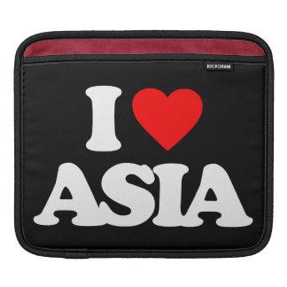 I LOVE ASIA iPad SLEEVES