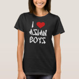 I Love Asian Boys Shirt