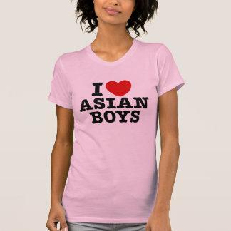 I Love Asian Boys Tee Shirt