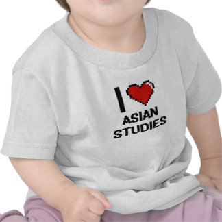 I Love Asian Studies Digital Design Shirt