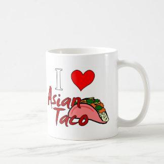 I Love Asian Taco Coffee Mug
