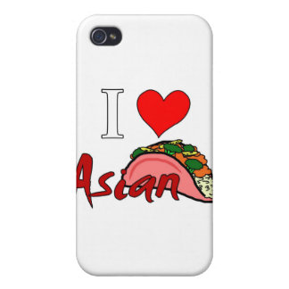 I Love Asian Taco Case For iPhone 4