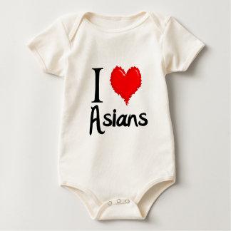 i love asians bodysuit