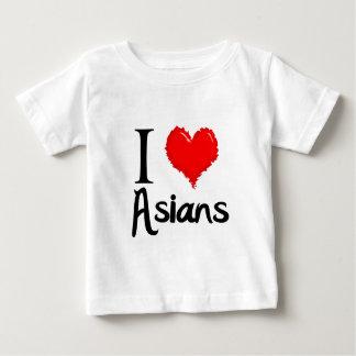 i love asians t-shirt