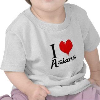 i love asians t-shirts