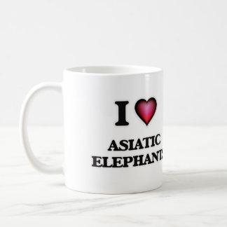 I Love Asiatic Elephants Coffee Mug