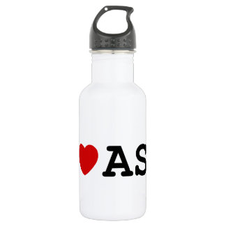I Love ASL Water Bottle
