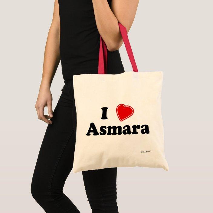 I Love Asmara Canvas Bag