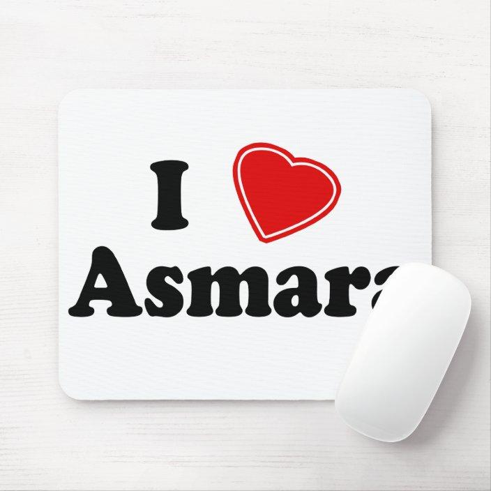 I Love Asmara Mousepad