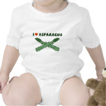 I Love Asparagus Rompers