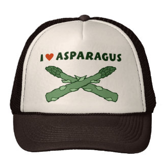 I Love Asparagus Trucker Hat