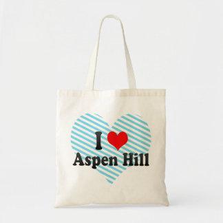 I Love Aspen Hill, United States Bag
