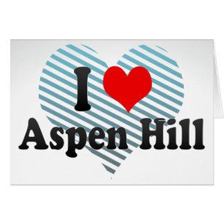 I Love Aspen Hill, United States Card