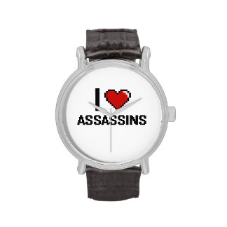 I love Assassins Wrist Watch