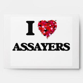 I love Assayers Envelopes