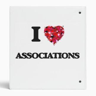 I Love Associations 3 Ring Binders