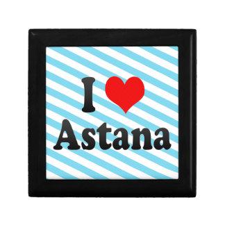 I Love Astana, Kazakhstan Jewelry Box