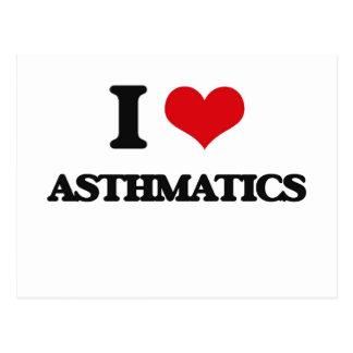 I Love Asthmatics Postcards