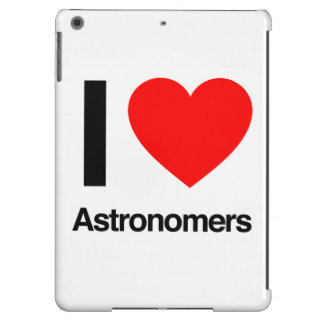 i love astronomers iPad air cases
